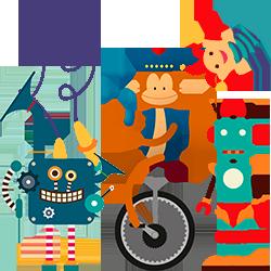 Los juguetes crean personas